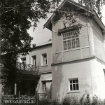 Главный дом в усадьбе Мальце-Бродово. Фото 1980-х гг.