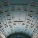 Усадьба Мамоново Гусева полоса, кессонированный потолок парадного зала
