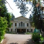 Усадьба Мамоново Гусева полоса, главный дом со стороны двора
