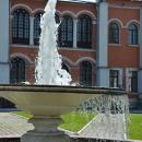 Усадьба Марфино фонтан перед главным домом