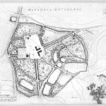 План усадьбы Марьинка по обмерам Е.П. Щукиной