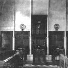 Усадьба Марьино Ленинградская область, интерьер Троицкой церкви