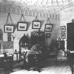Усадьба Марьино Ленинградская область, интерьер дворца