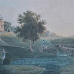 Е.И. Есаков Вид с беседкой-руиной (Беседка была построена по проекту Х.Ф. Майера в 1814 г.)