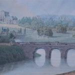 Е.И. Есаков Вид усадьбы Марьино с господским домом, 1819 г.