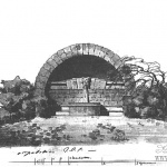 Парковая постройка (грот). Архитектор Х.Ф. Майер