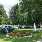 Усадьба Мелихово, театральный дворик