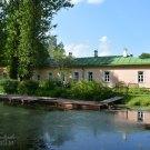 Усадьба Мелихово, пруд и главный дом