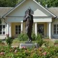 Усадьба Мелихово,памятник А.П. Чехову