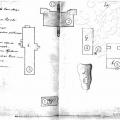 План усадебного комплекса в Мещеринове. 1815, РГИА
