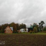 Усадьба Милюково. Церковь Михаила Архангела и бывший господский дом