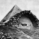 Усадьба Митино погреб-пирамида