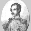Александр Сергеевич Львов. Портрет К. Мазера, 1842