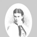 Елизавета Александровна Бакунина (дочь А.С. Львова), фото 1860-х гг.