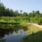 Усадьба Михайловское Ганнибалов, пруд в парке