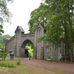 Готические ворота в парк Монрепо
