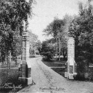 Усадьба Муромцево, въезд на церковный двор