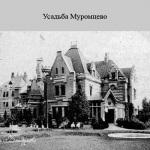 Усадьба Муромцево готический замок