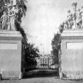 Усадьба Нескучное. Ворота Александрийского дворца (И.П. Витали). 1846г.