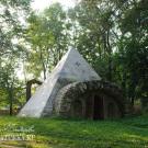 Усадьба Никольское-Черенчицы, погреб-пирамида