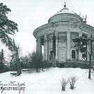 Усадьба Никольское-Черенчицы, Воскресенская церковь. Фото М. Ильин 1960- е гг.