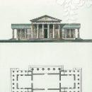 Усадьба Никольское-Черенчицы, дровяной сарай, чертеж А.Н. Львова, 1780-е гг.