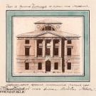 Дом в усадьбе Никольское-Черенчицы. Главный фасад. Н. Львов, 1780-е гг.