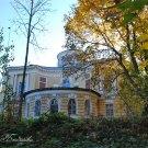 Усадьба Никольское-Гагарино, дворец со стороны парка