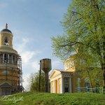 Усадьба Никольское-Гагарино, Никольская церковь с колокольней