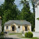 Усадьба Никольское-Прозоровское, церковный двор