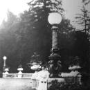 Варвара Александровна Морозова в парке усадьбы Олинцово-Архангельское