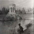 Усадьба Одинцово-Архангельское, беседка на пруду