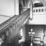 Усадьба Одинцово-Архангельское, лестница в главном доме
