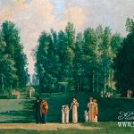Усадьба Ольгово, парк