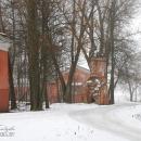 Усадьба Ольгово, башня парадного двора