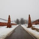 Усадьба Ольгово, обелиски въезда