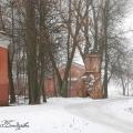 Усадьба Ольгово, вид на башню парадного двора