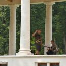 Усадьба Остафьево, подготовка в джазовому концерту