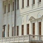 Усадьба Остафьево, фрагмент парадного фасада главного дома