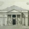 Усадьба Останкино. Проект оформления павильона. 1793 г. В.Ф. Бренна