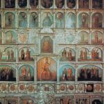 Усадьба Останкино фрагмент иконостаса церкви