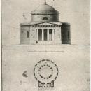 Усадьба Отрада, мавзолей-усыпальница. Проект Д. Жилярди