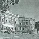 Усадьба Отрада Орловых. Вид со стороны парка, фото 1964 г.