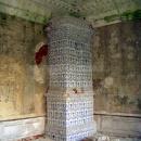 Усадьба Отрада, главный дом, изразцовая печь, фото 2006 г.