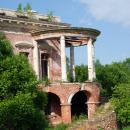 Усадьба Семеновское-Отрада Орловых, воздушная беседка над лестницей