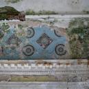 Усадьба Семеновское-Отрада, дворец, фрагмент декоративной отделки интерьера