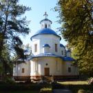 Восстановленная церковь в усадьбе Петровское (Дурнево)
