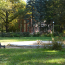 Усадьба Петровское (Дурнево), партер перед домом