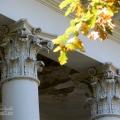 Усадьба Петровское (Дурнево), фрагмент портика главного дома