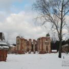 Усадьба Петровское (Княжищево) руины дворца